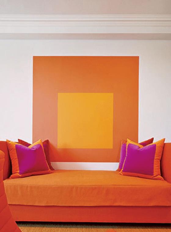 Orange Couch