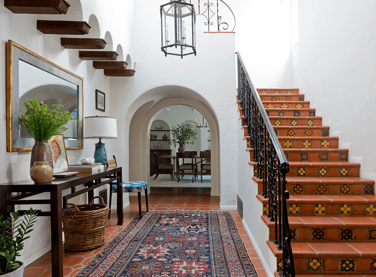 Warm Spanish Style Interior Home