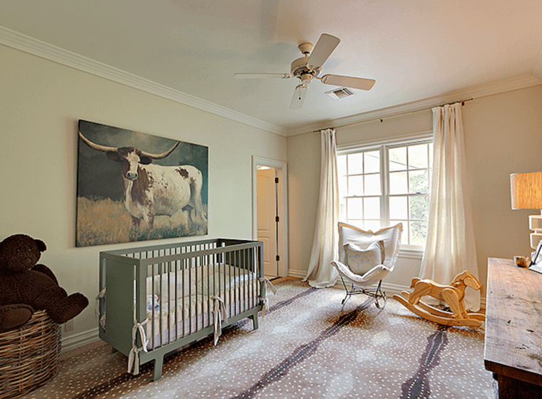 Beige Baby Nursery