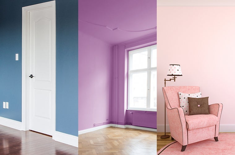 Blue, Violet, And Pink Room Inspiration