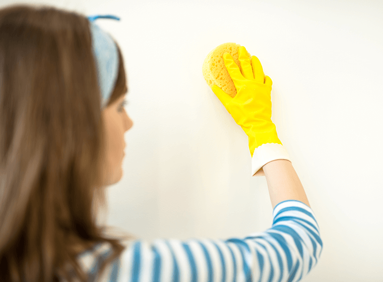 Removing Stains from Walls