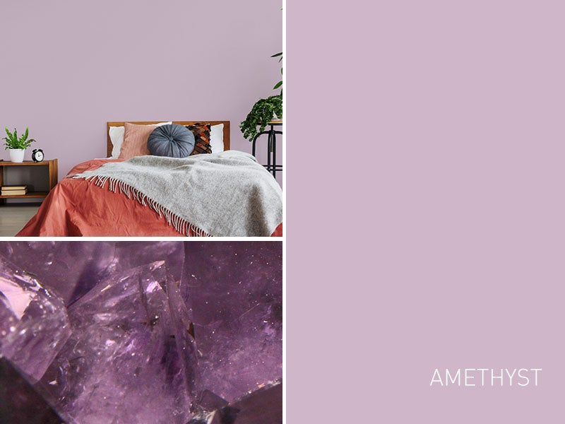 """""""Paint color amethyst swatch"""""""