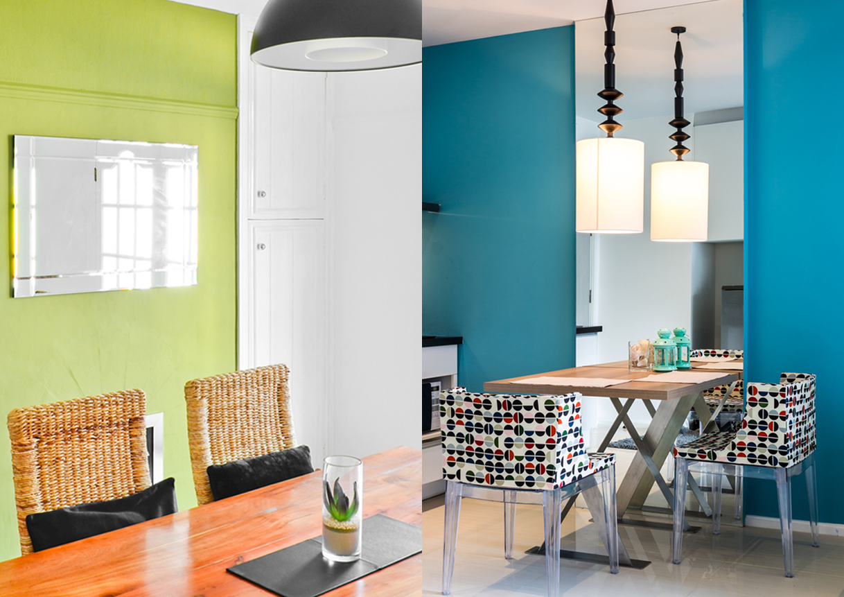 Green and Blue House Paint Inspiration