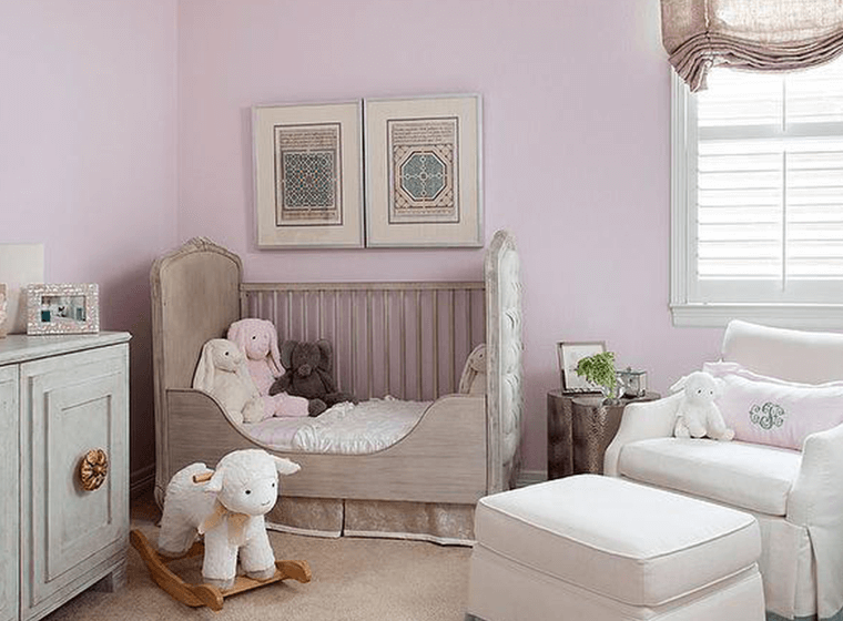 Baby Colors Pink Nursery