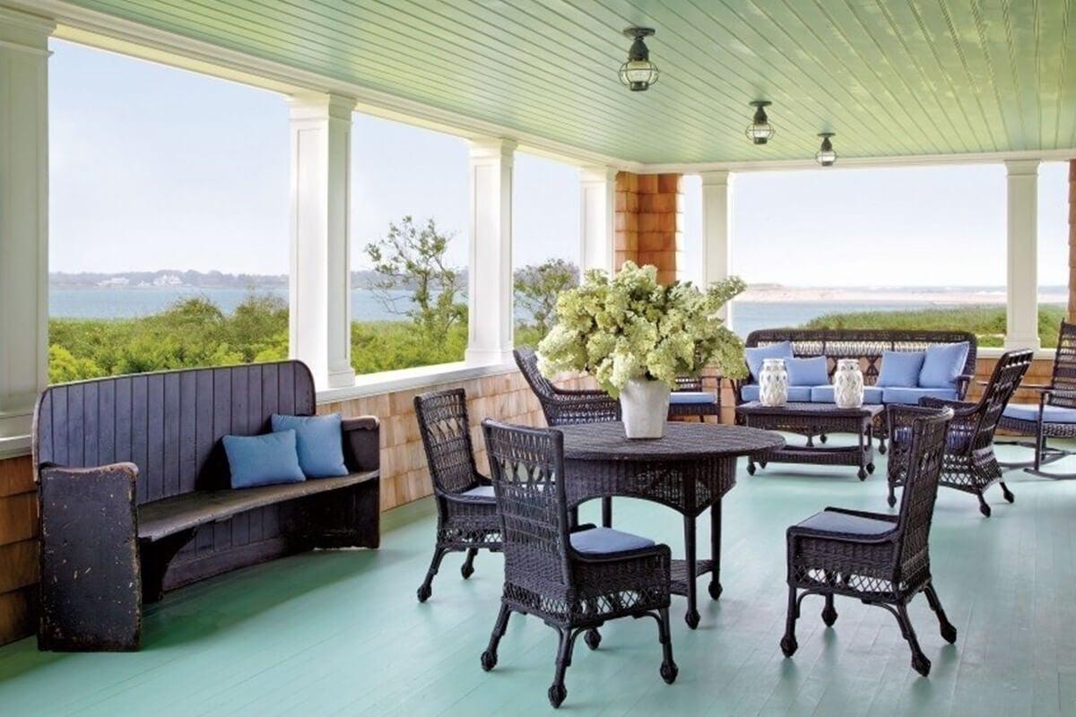 Sage Green Deck