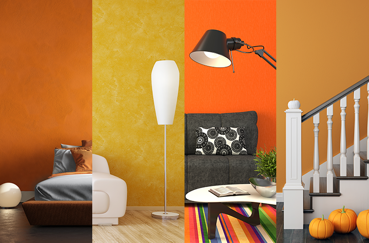 Bright Autumn Colors for Your Home