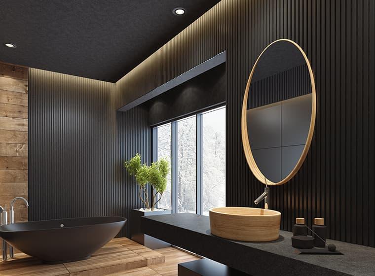 Japandi Style Bathroom