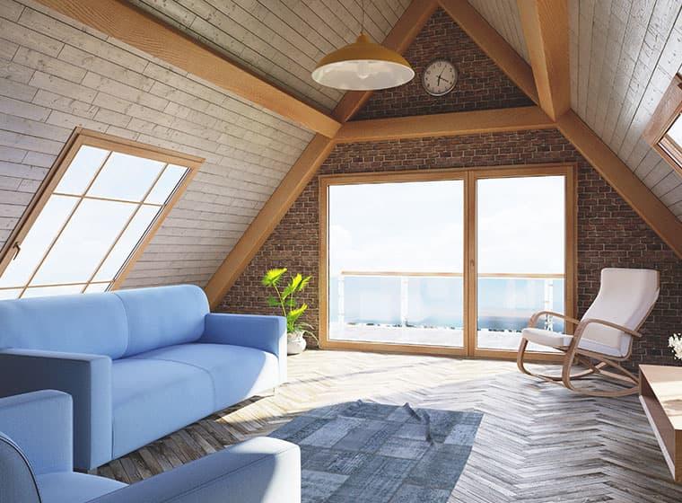 Barn Style Loft