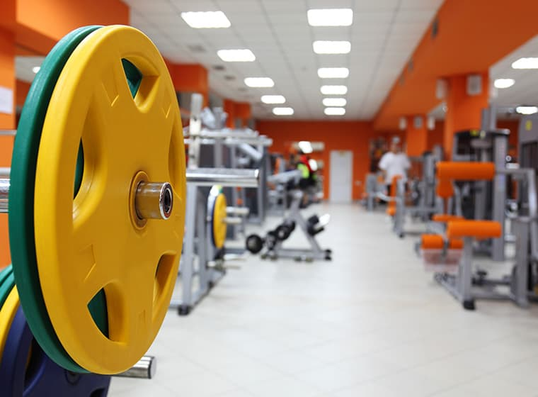 Orange Home Gym