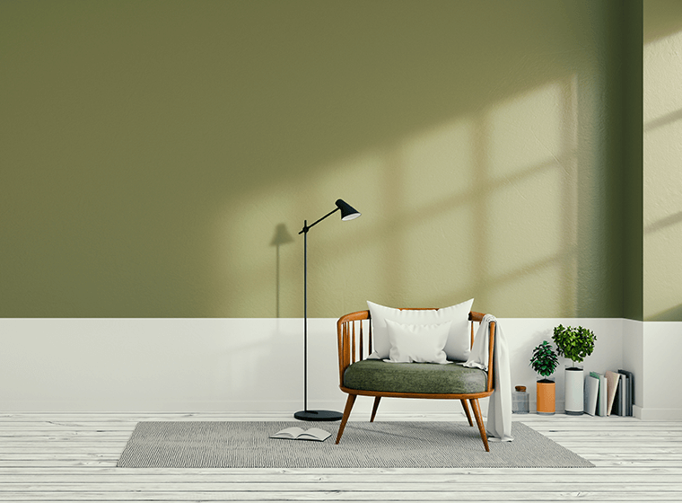 Create The Perfect Olive Green Living Room Wow 1 Day Painting,Exposed Painted Basement Ceiling Ideas