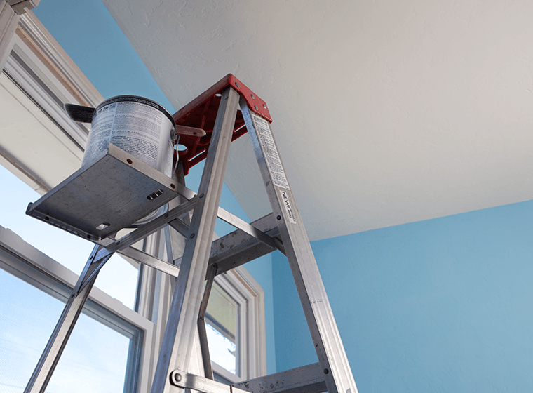 Equipment for Painting High Ceilings