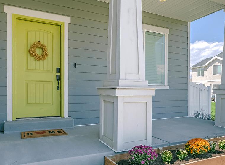 Repaint house exterior