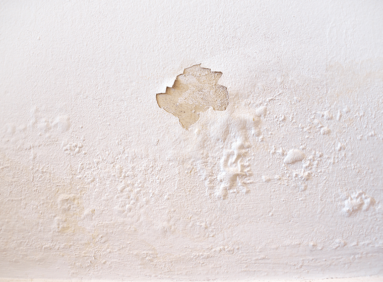 Bubbling and cracked paint is a sign for exterior repaint