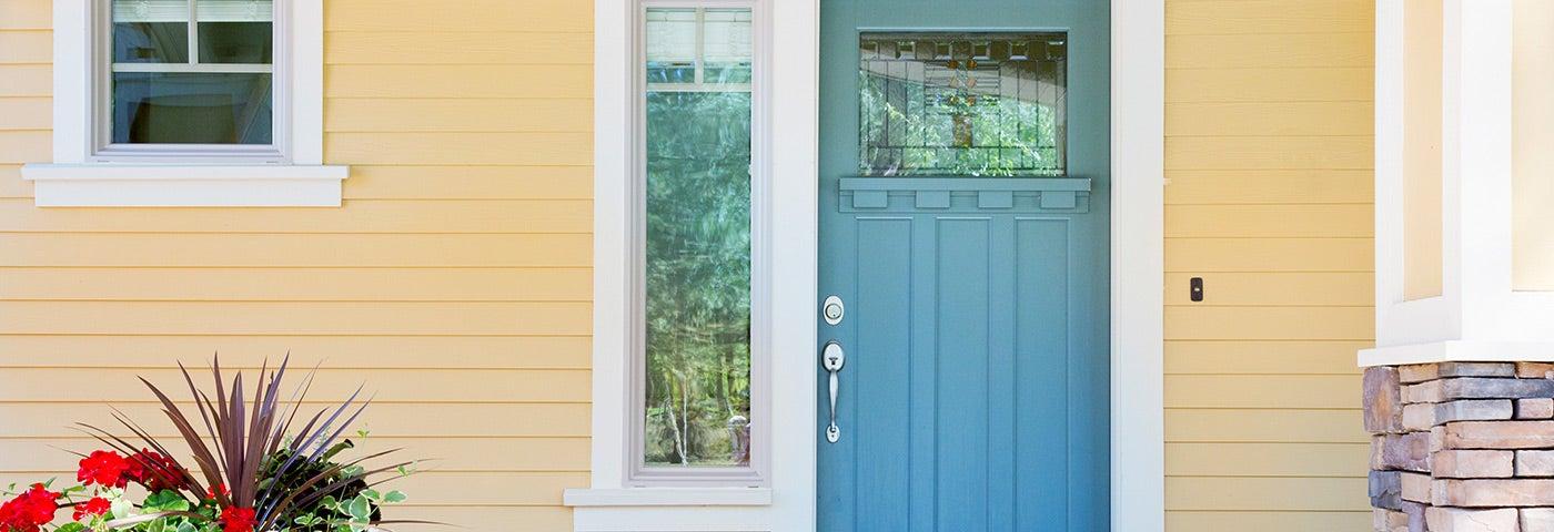 Front door painting image