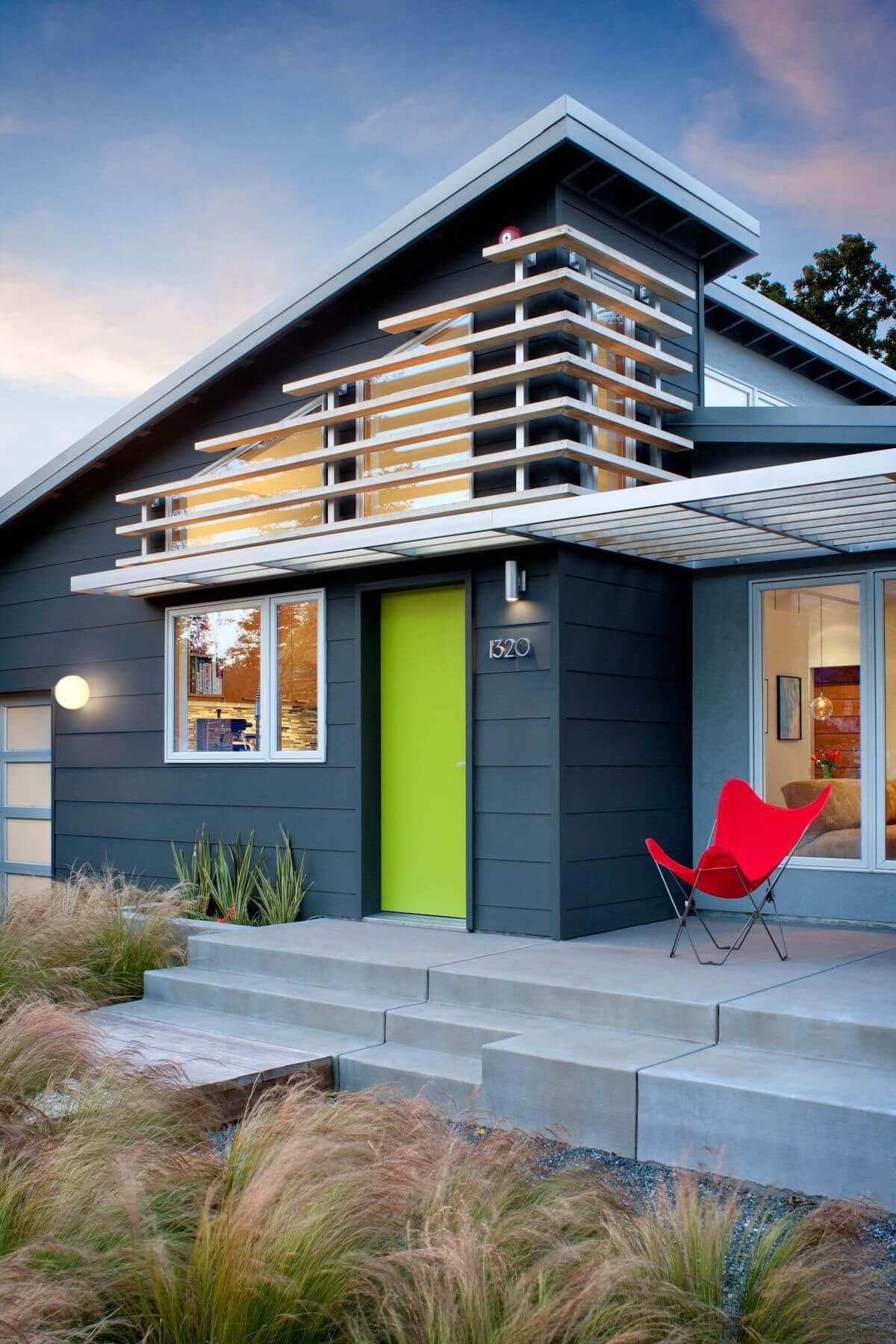 Indigo and Green Home