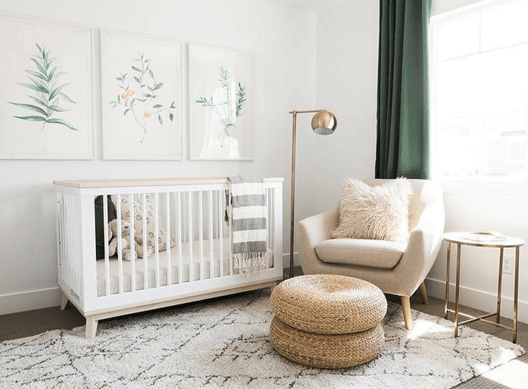 Neutral Baby Colors Beige Nursery