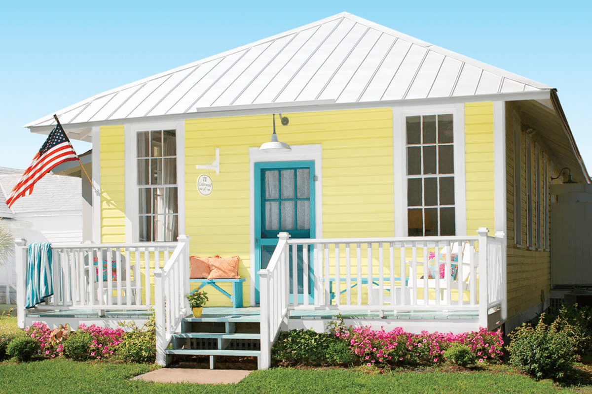 Trees Plants Or Water Can Help You Find The Perfect Accent Colors Too Yellow Cottage