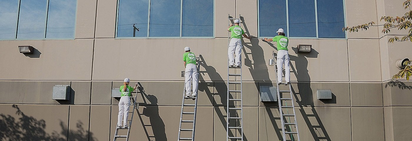 Commercial painting services wow 1 day painting for Commercial mural