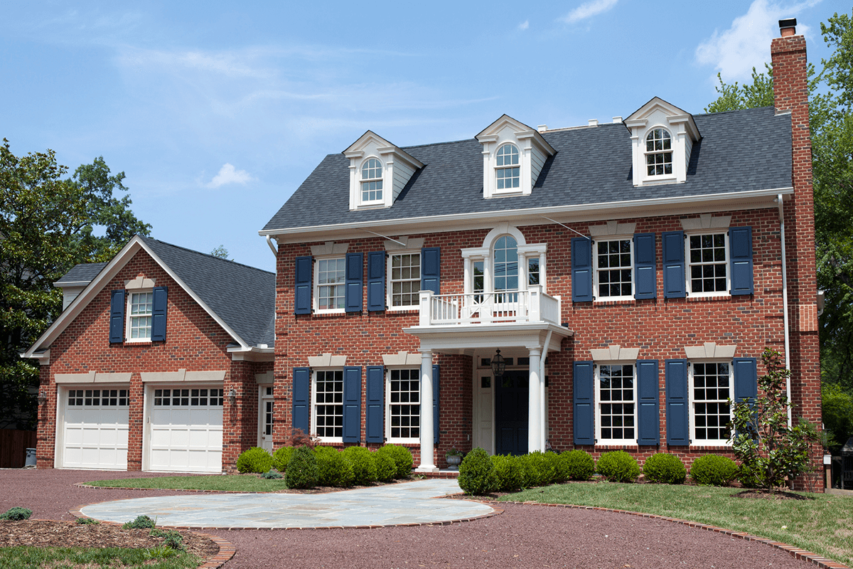 Stunning Exterior Paint Colors for Brick Homes | WOW 1 DAY