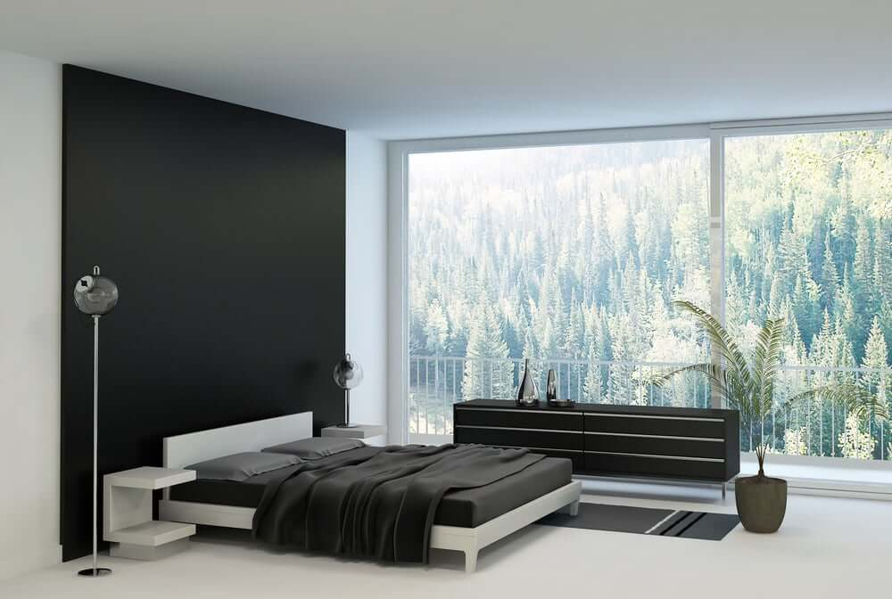 Black Wall Paint a bold statement – black walls for your interiors: 7 tips on how