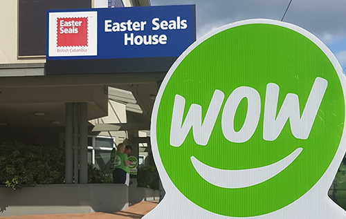 Day to WOW Easter Seals House Vancouver