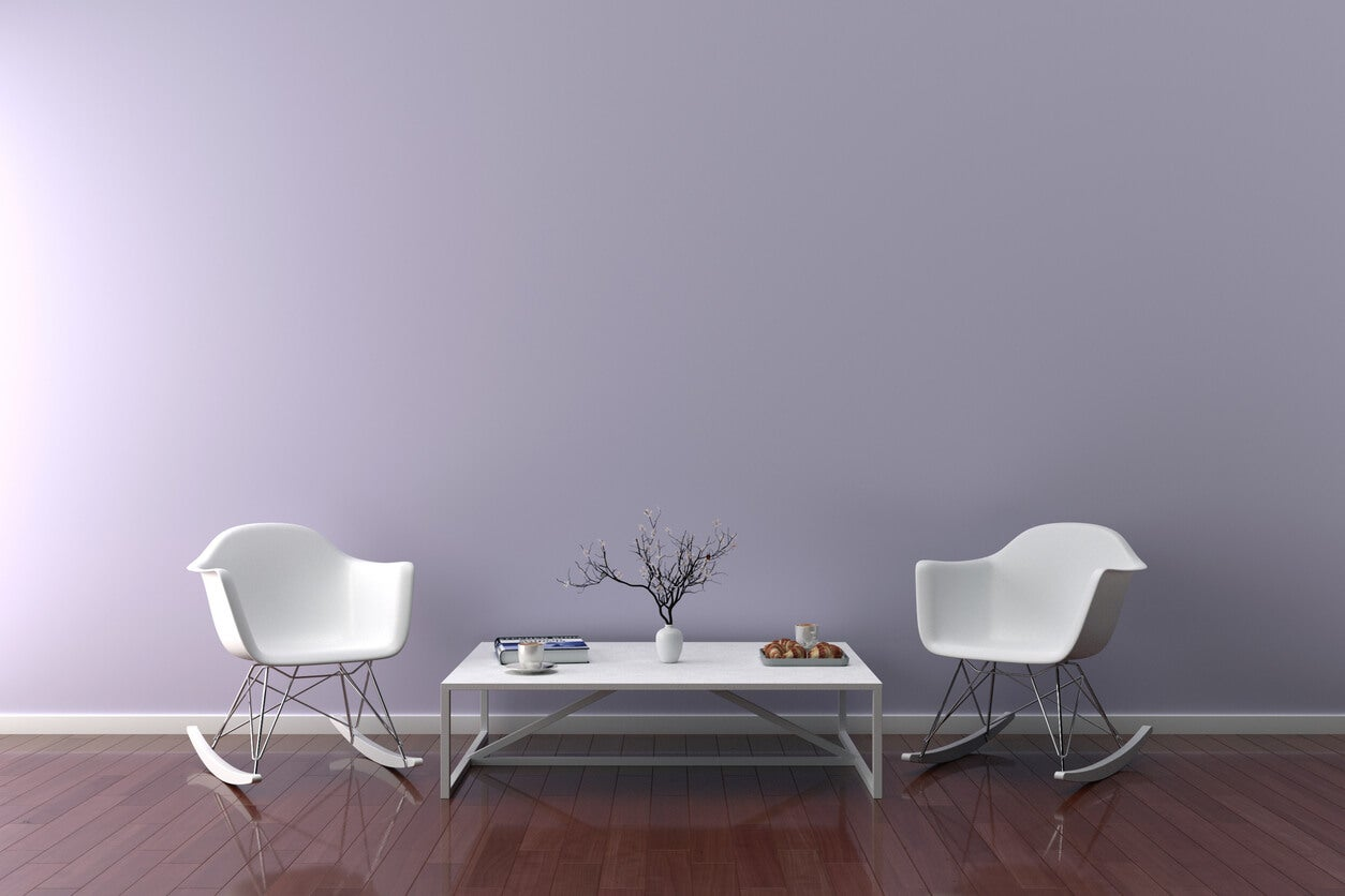 Lavender Color Room