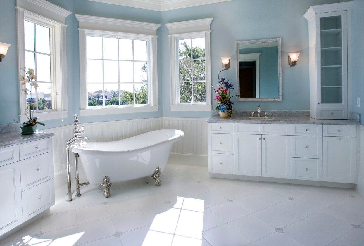 Image of: 10 Beautiful Bathroom Paint Colors For Your Next Renovation Wow 1 Day Painting