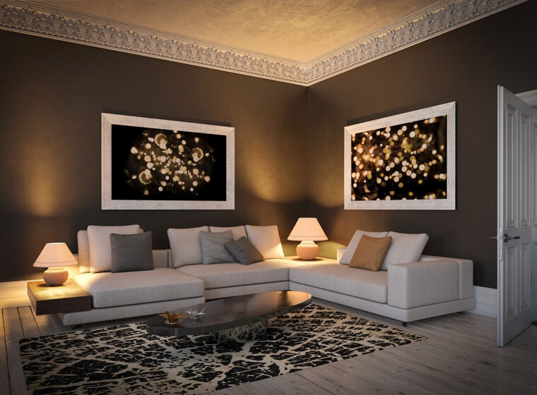 Mocha Living room