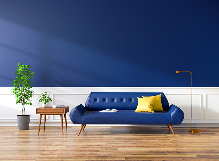 Add A Touch Of Elegance With Royal Blue Paint