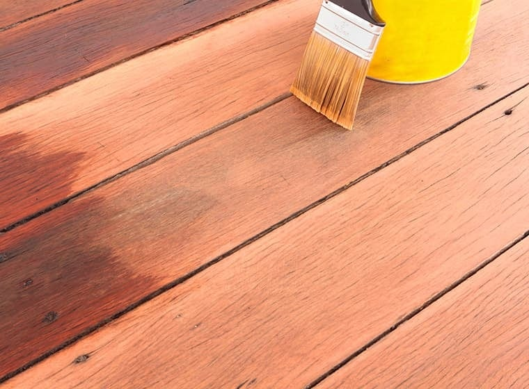 Repainting Porch or Deck with Brush
