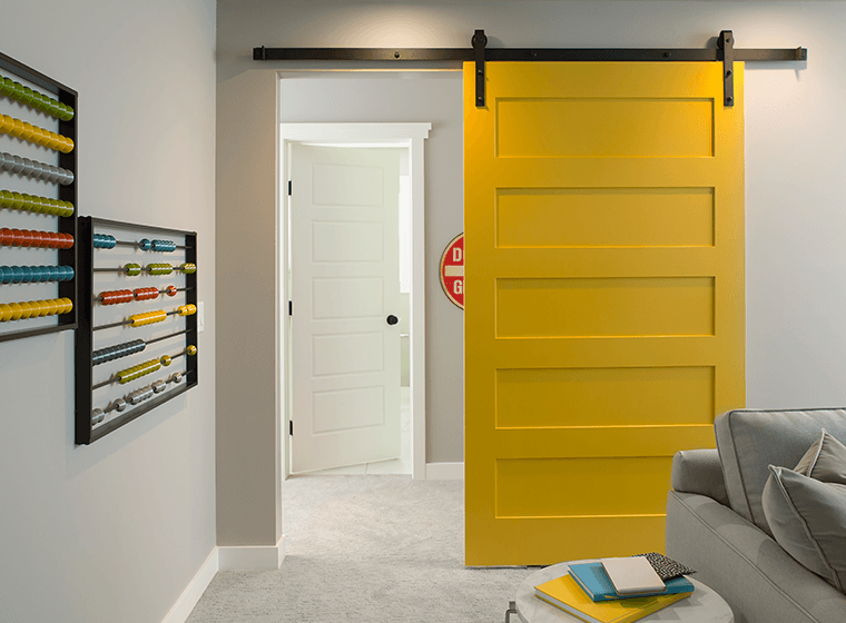Lemon Yellow Door